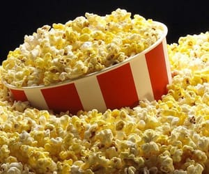 popcorn, theater, and stage play image