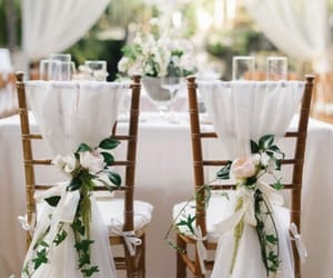 decoration, flowers, and wedding image