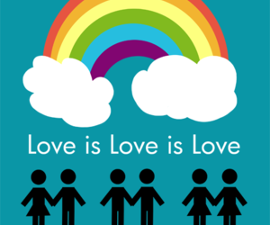 bisexual, equal rights, and love is love image