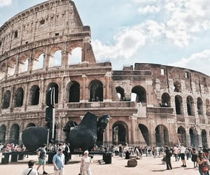 aesthetic, italy, and rome image