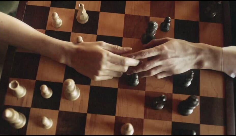 chess, hands, and love image