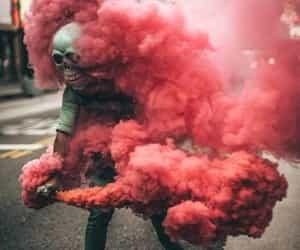 smoke, art, and photography image
