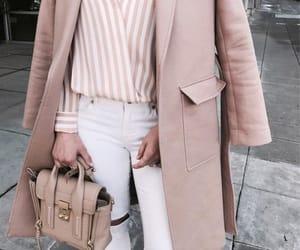 fashion, pink shirt, and look image