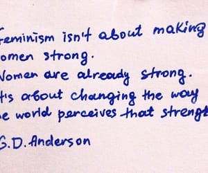 feminism, quotes, and text image