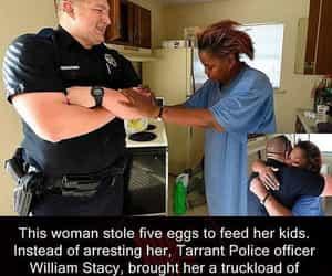 faith, help, and police image