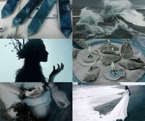 aesthetic, sea, and witch image
