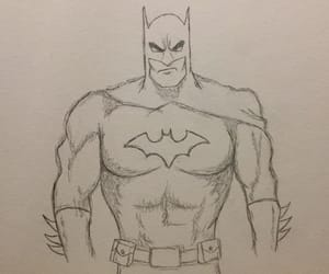 art, batman, and dc comics image