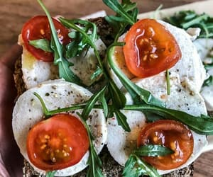 mozzarella, tomatoes, and origano image