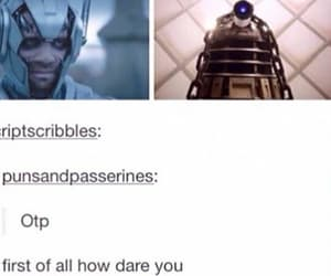 clara, cyberman, and doctor who image