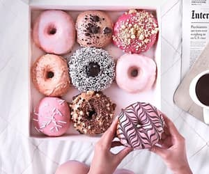 bed, donut, and room image