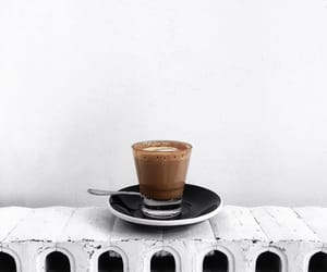 coffee, drink, and minimalism image