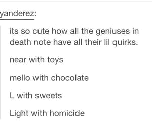 anime, death note, and tumblr image