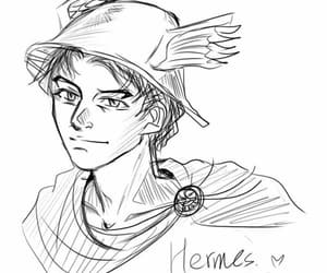 god, hermes, and dios image