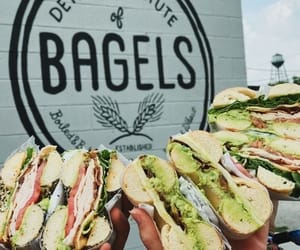 avocado, bagels, and blt image