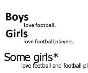 football, girl, and boy image