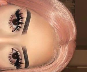 beauties, beauty, and eyebrows image