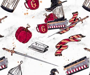 harry potter, gryffindor, and wallpaper image