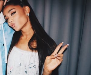 celebrity, butera, and peace sign image