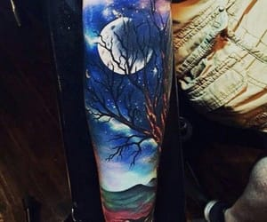 arm, cool, and tattoo image