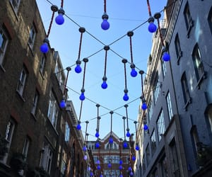 beauty, london, and blue image