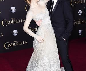 richard madden, lily james, and beautiful image