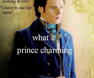 richard madden, cinderella, and prince charming image