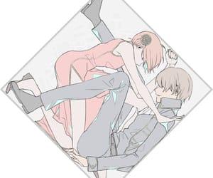 anime, couple, and gintama image