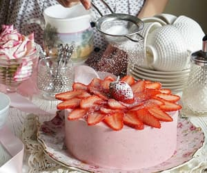 cake, chef, and food image