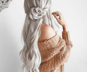 hair, beauty, and style image