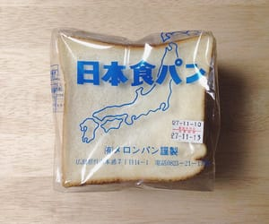 aesthetic, blue, and bread image