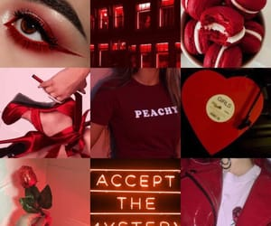 aesthetic, red, and ruby image