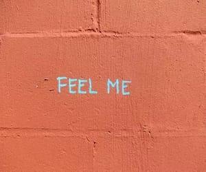 feelings, wall, and love image