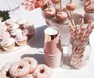 rose gold, party, and aesthetic image