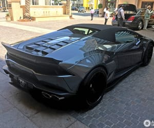 Lamborghini, huracan spyder, and liberty walk image