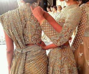mariage, sari, and women image