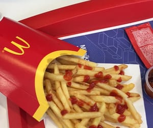 delicious, fries, and ketchup image