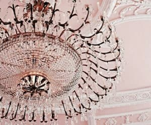 aesthetic, ceiling, and chandelier image