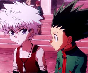 gif, hunter x hunter 2011, and gon und killua image