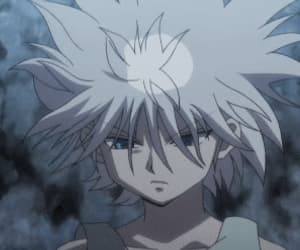 gif, killua, and hunter x hunter 2011 image