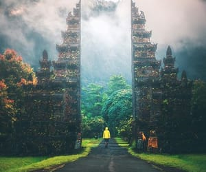 bali, dreamy, and gate image