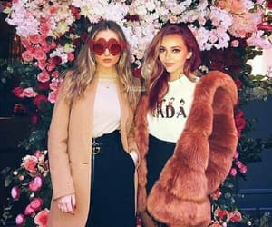 little mix, perrie edwards, and flowers image