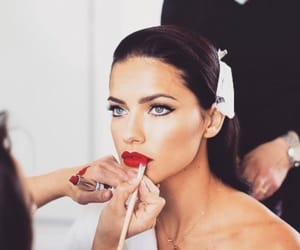 Adriana Lima, make up, and pretty image