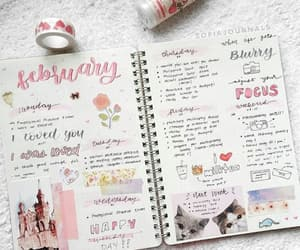 journal, stationery, and bujo ideas image