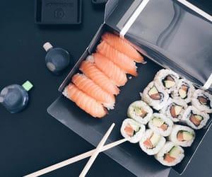 boy and sushi image