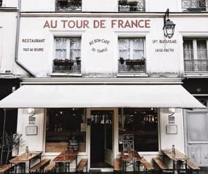 restaurant, france, and photography image