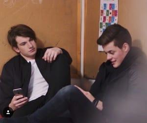 skam, william, and chris image