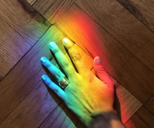 prism, rainbow, and ring image