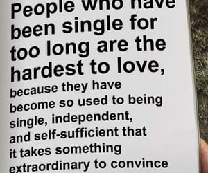 quotes, love, and single image