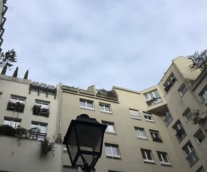 apartment, skies, and travel image