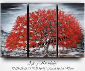 contemporary art, landscape painting, and large painting image